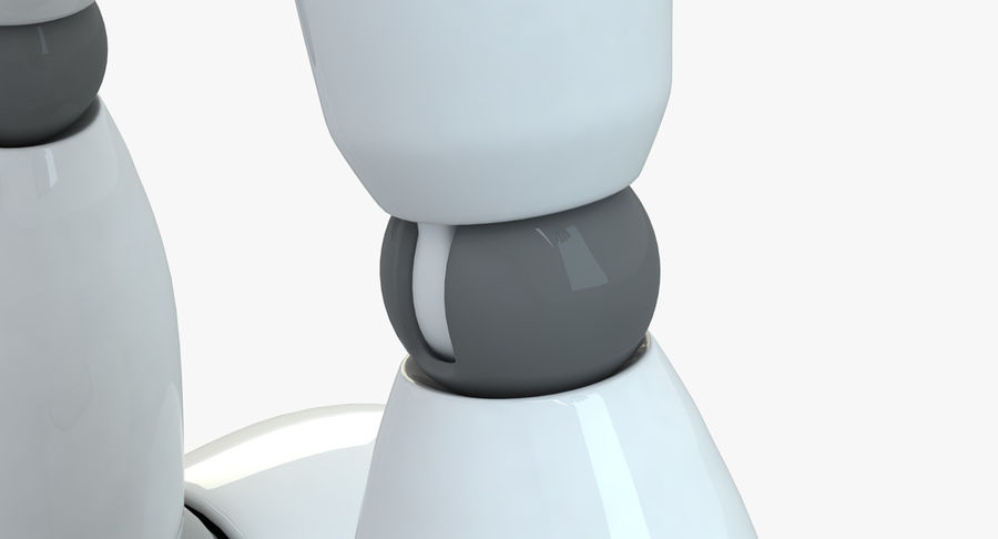 Robot (1) royalty-free 3d model - Preview no. 10