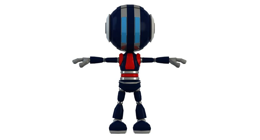 Robot (1) royalty-free 3d model - Preview no. 16