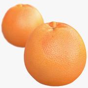 Сканирование грейпфрута с низким / высоким содержанием поли 3d model