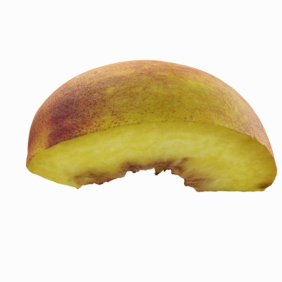 Quartiere Tropical Realistic Peach royalty-free 3d model - Preview no. 9