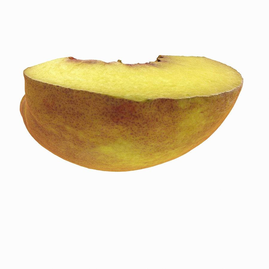 Quartiere Tropical Realistic Peach royalty-free 3d model - Preview no. 5