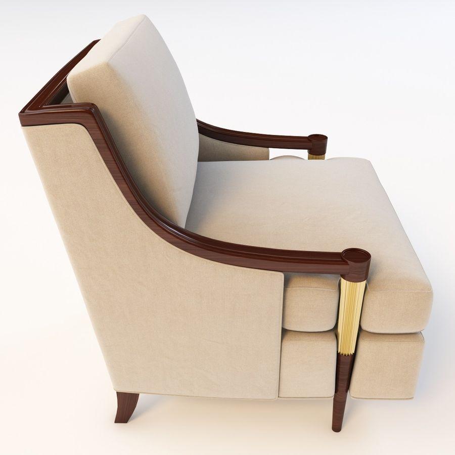 Baker Signature Lounge Chair 3d Model 39 Obj Max Fbx