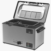 Elektryczna frytownica z pojedynczym zbiornikiem 3d model