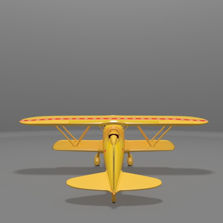 Fiat CR42 Falco Fighter Bi-Plane royalty-free 3d model - Preview no. 14