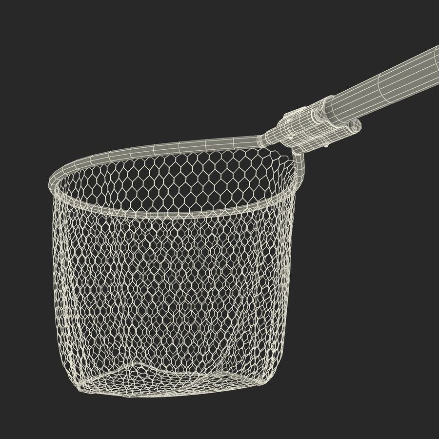 Fishing Net royalty-free 3d model - Preview no. 25