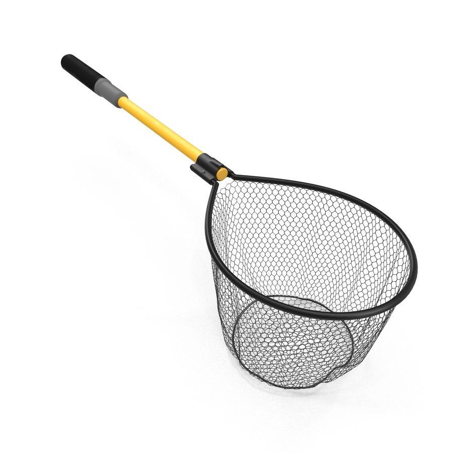 Fishing Net royalty-free 3d model - Preview no. 6