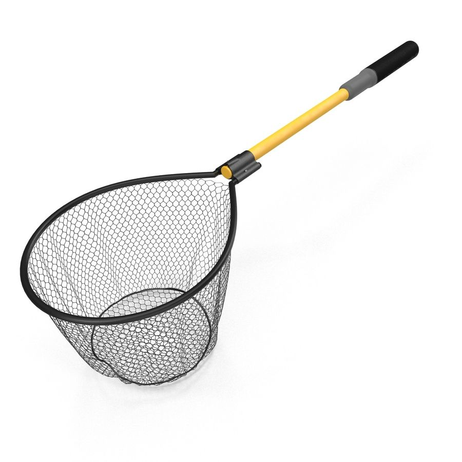 Fishing Net royalty-free 3d model - Preview no. 5