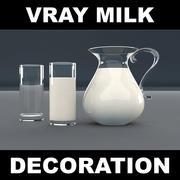 Молочное стекло 3d model