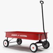 Childs Wagon 2 3D Model 3d model