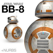 BB-8 droid Star Wars + NURBS 3d model