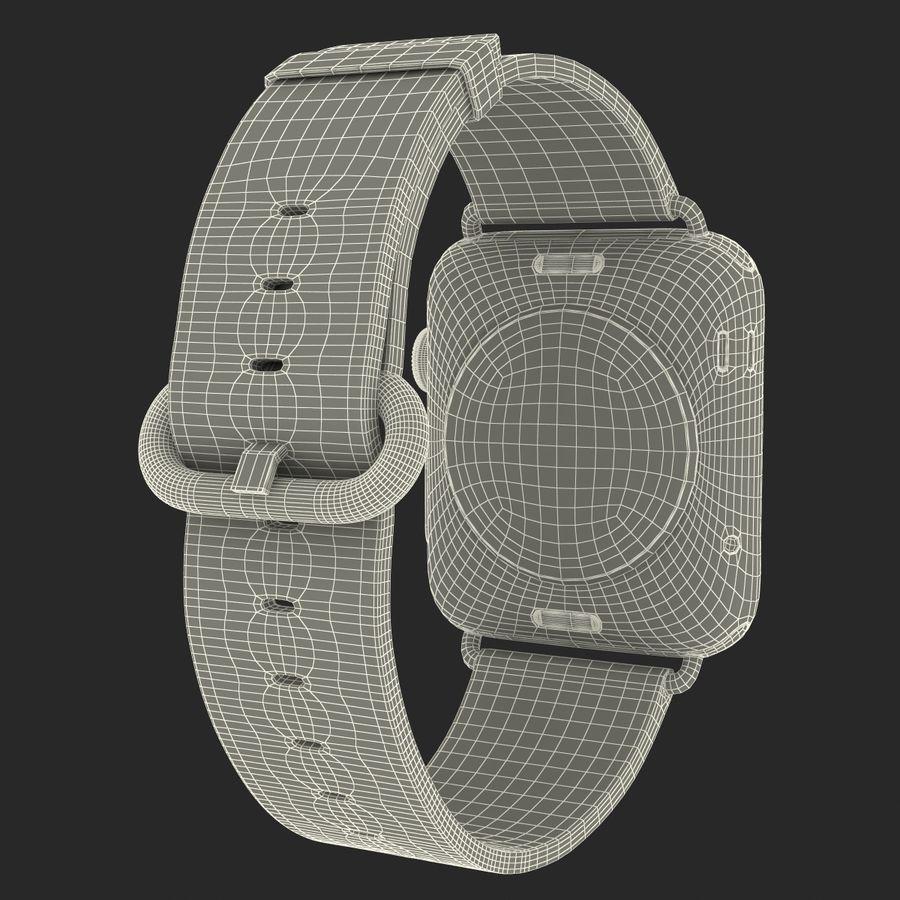 Apple Watch Classic Пряжка Черная Кожа 2 royalty-free 3d model - Preview no. 28