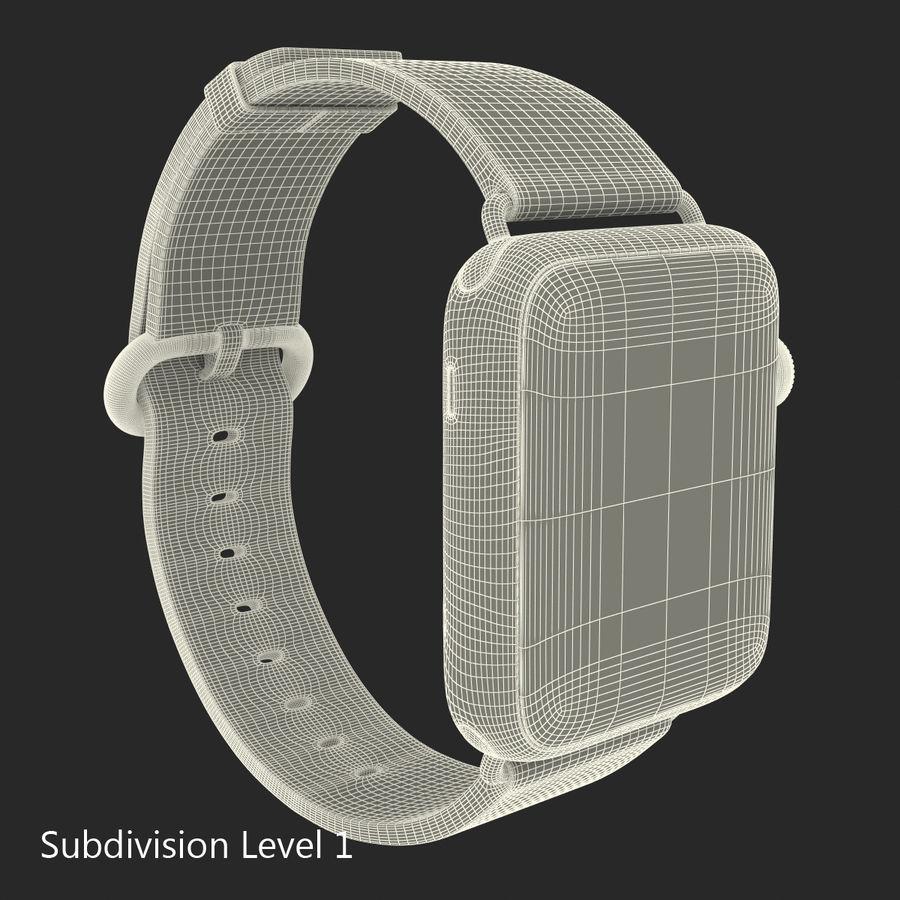 Apple Watch Classic Пряжка Черная Кожа 2 royalty-free 3d model - Preview no. 20