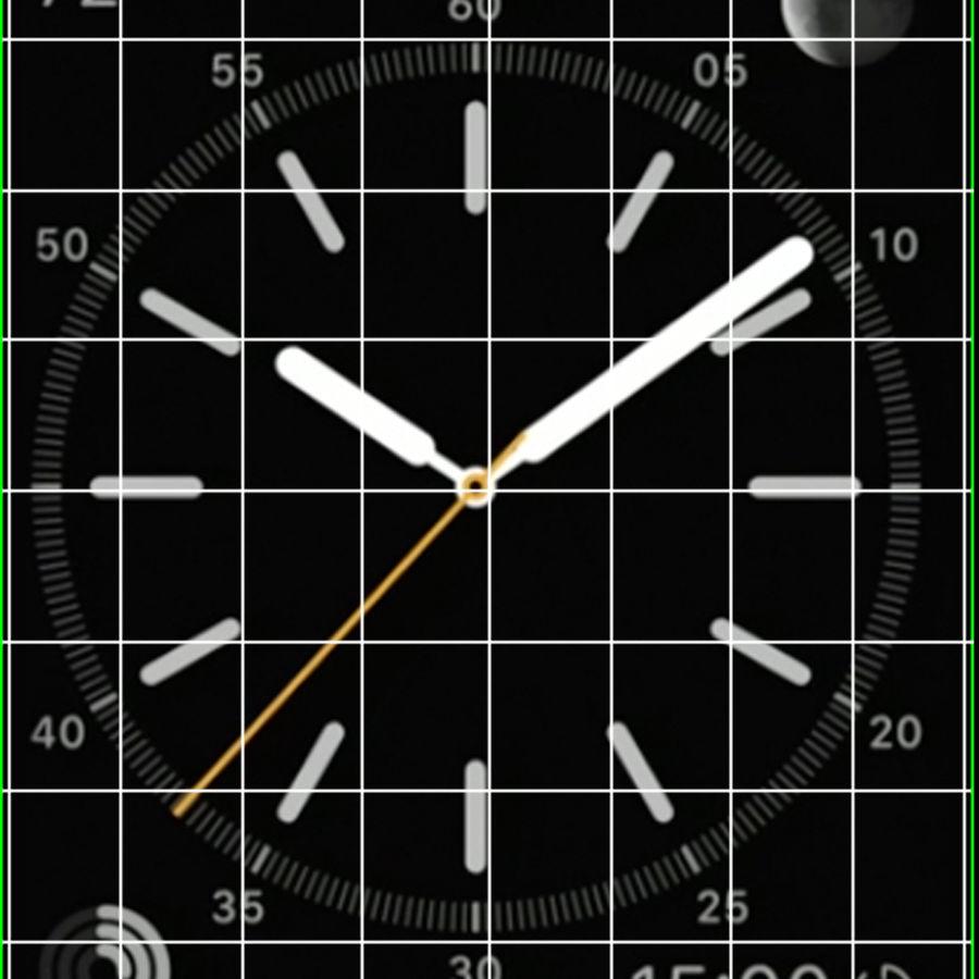 Apple Watch Classic Пряжка Черная Кожа 2 royalty-free 3d model - Preview no. 21