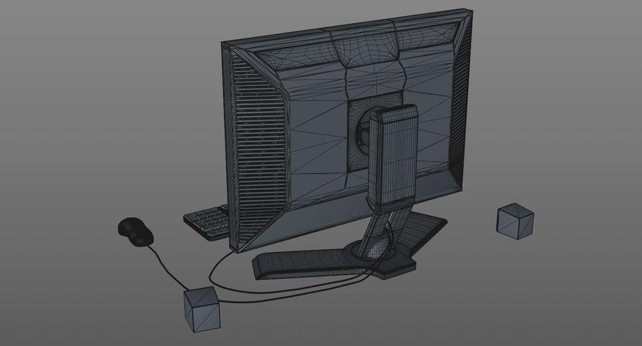 Schermo del computer royalty-free 3d model - Preview no. 11