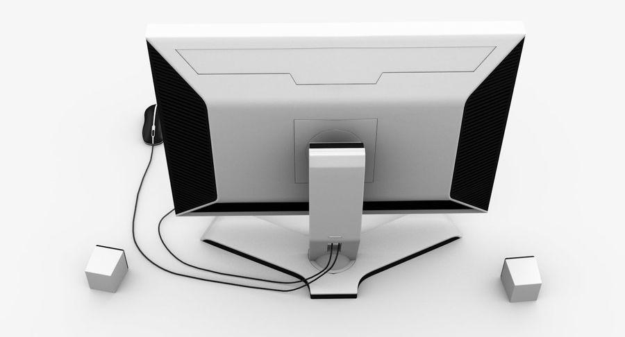 Schermo del computer royalty-free 3d model - Preview no. 6