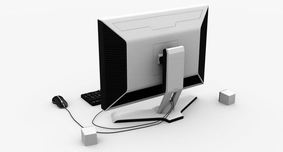 Schermo del computer royalty-free 3d model - Preview no. 5