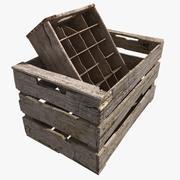 Old Crates 3d model