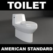 화장실 3d model