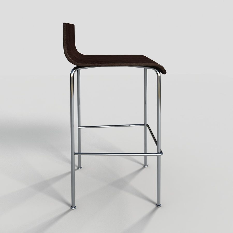 Bar Stool 28 royalty-free 3d model - Preview no. 6
