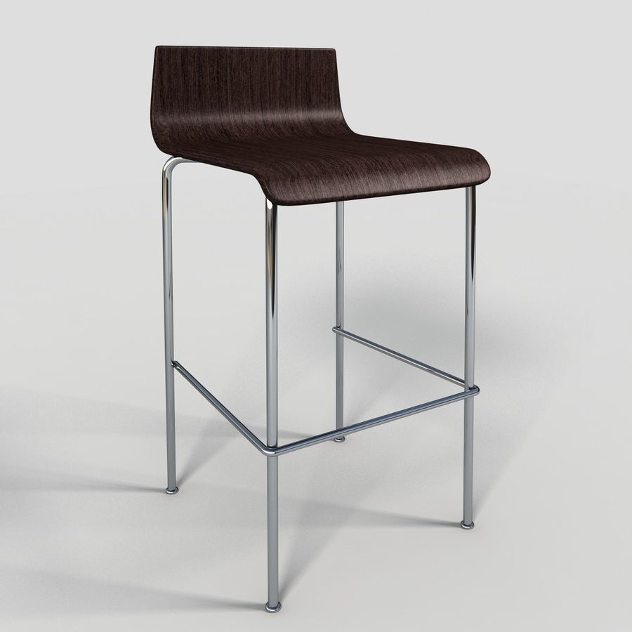 Bar Stool 28 royalty-free 3d model - Preview no. 2