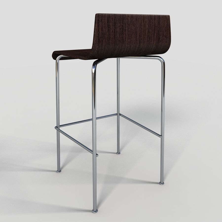Bar Stool 28 royalty-free 3d model - Preview no. 4