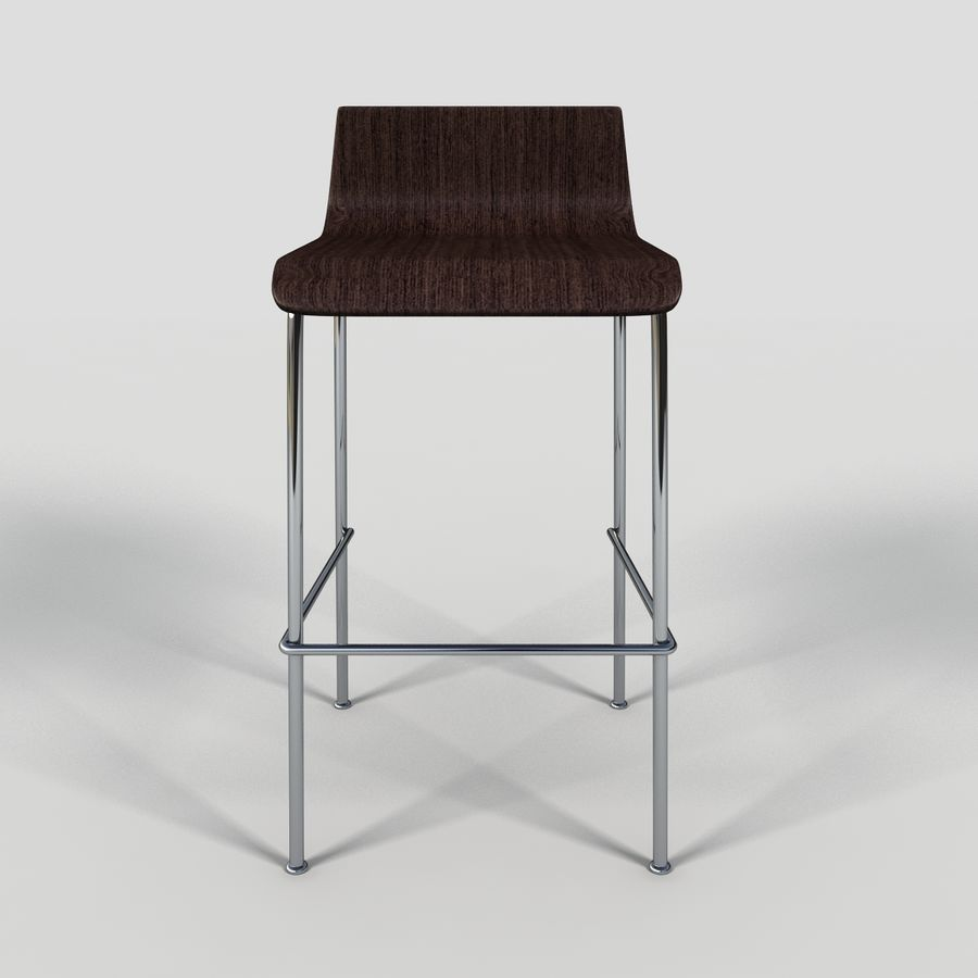 Bar Stool 28 royalty-free 3d model - Preview no. 5