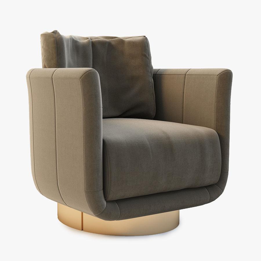 6f067b9091a5 Fendi Casa Artu Small Armchair 3D Model  39 - .max .obj .fbx - Free3D
