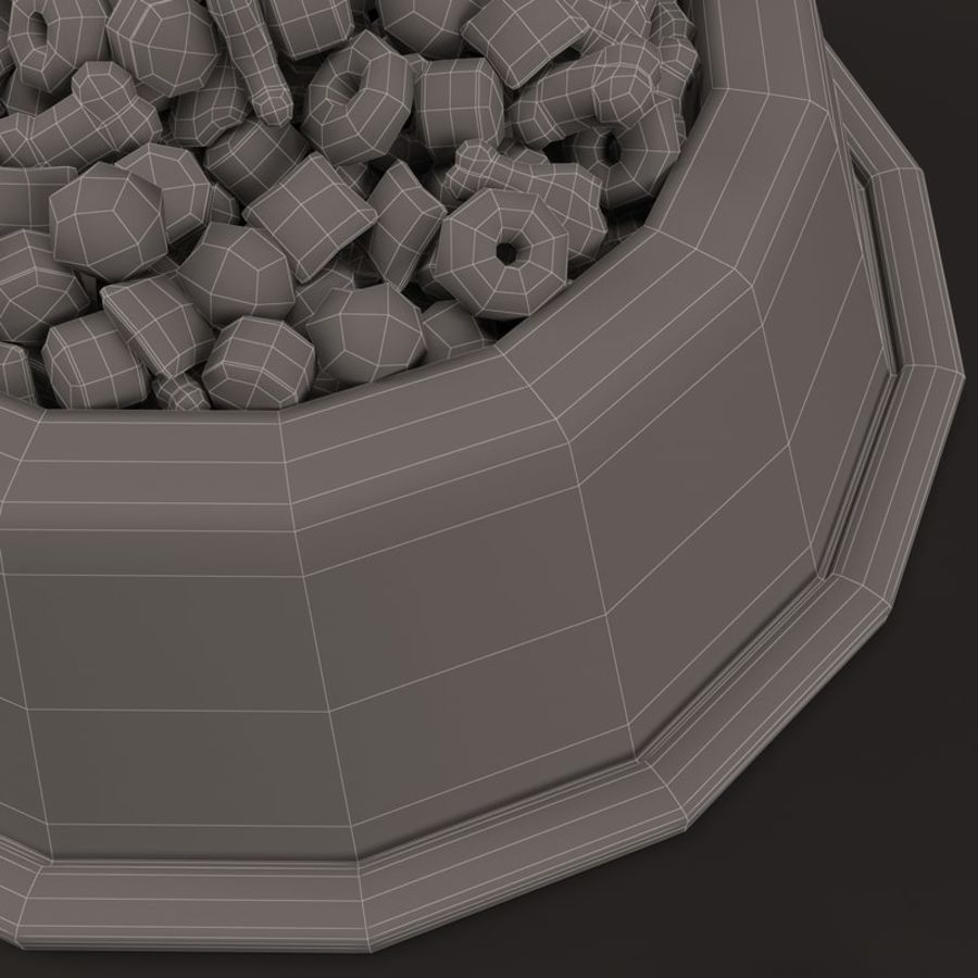 Pet Food 01 royalty-free 3d model - Preview no. 15