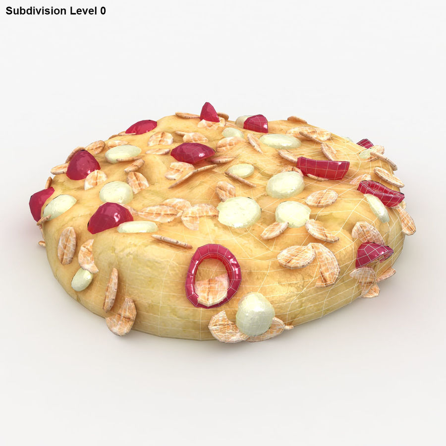 Cookie (Gesundheit) royalty-free 3d model - Preview no. 12
