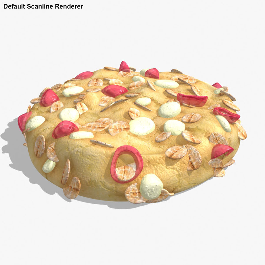 Cookie (Gesundheit) royalty-free 3d model - Preview no. 16