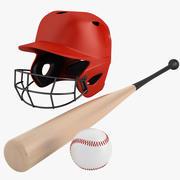 Bastão de beisebol 04 3d model