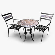 Garden Patio Furniture 3d model