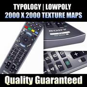 Uzaktan HDTV 3d model