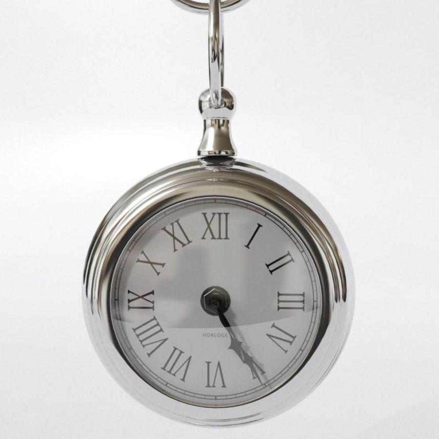 Horloge de table royalty-free 3d model - Preview no. 4