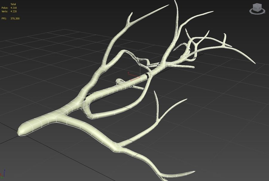 branch_tree_trunk royalty-free 3d model - Preview no. 9