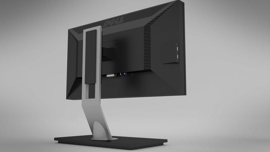デルモニター royalty-free 3d model - Preview no. 3