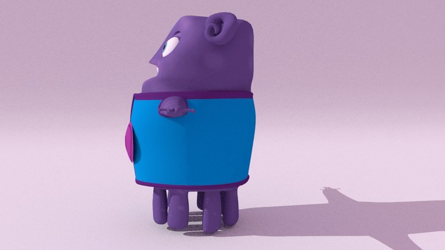 Boov nach Hause royalty-free 3d model - Preview no. 2