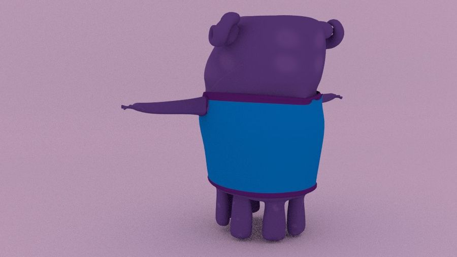 Boov nach Hause royalty-free 3d model - Preview no. 3