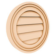 Round Louver 1 - 16 inch 3d model