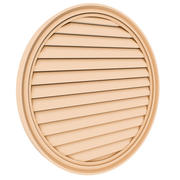 Round Louver 1 - 30 inch 3d model