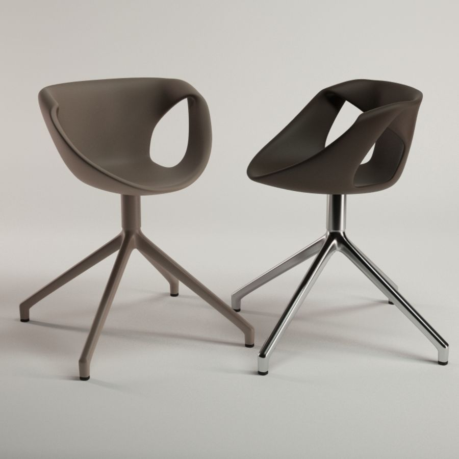 Tonon Up Chair 907 royalty-free 3d model - Preview no. 6