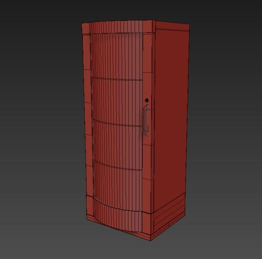 Server royalty-free 3d model - Preview no. 8