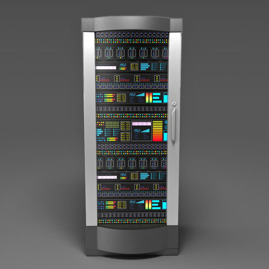 Server royalty-free 3d model - Preview no. 2