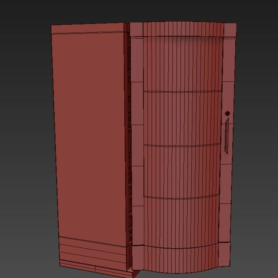 Server royalty-free 3d model - Preview no. 11