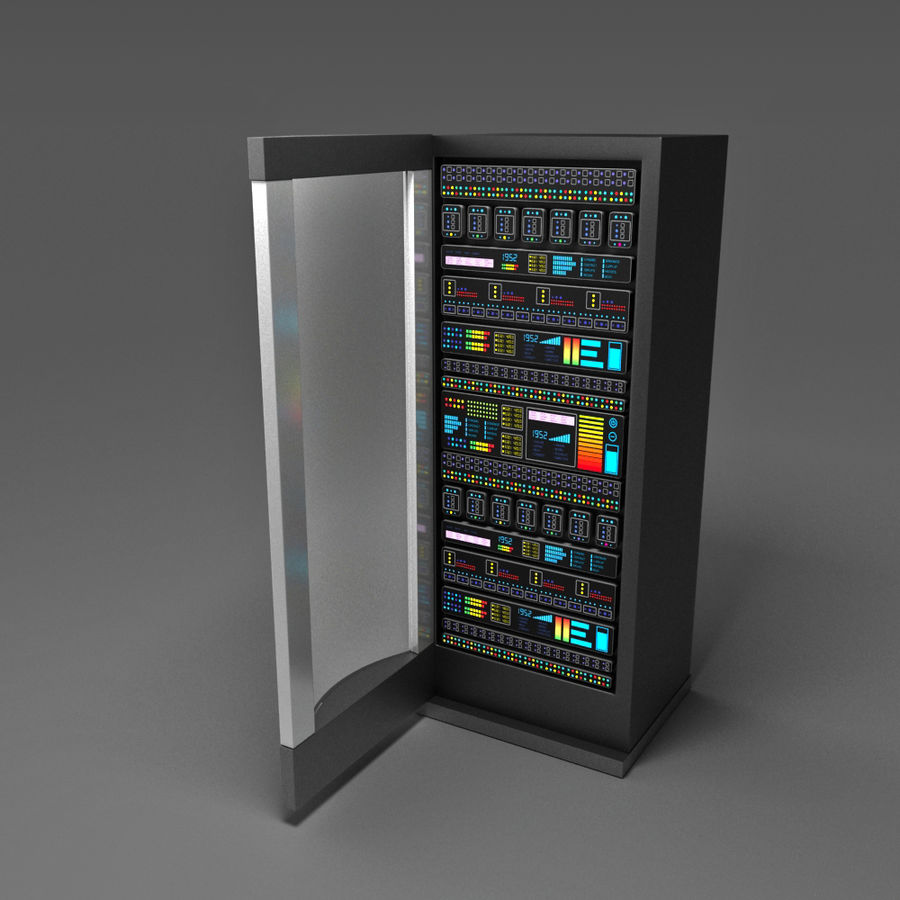 Server royalty-free 3d model - Preview no. 6