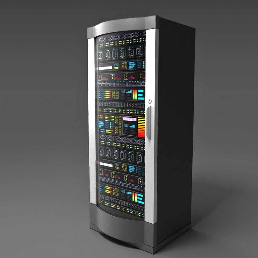 Server royalty-free 3d model - Preview no. 1