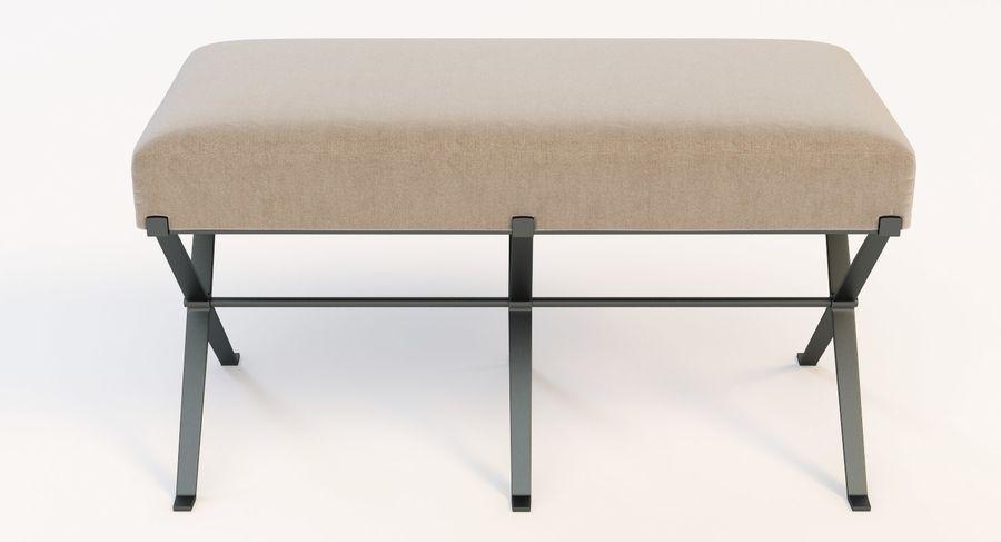 Strange Madame X Bench 3D Model 5 Max Obj Fbx 3Ds Free3D Spiritservingveterans Wood Chair Design Ideas Spiritservingveteransorg
