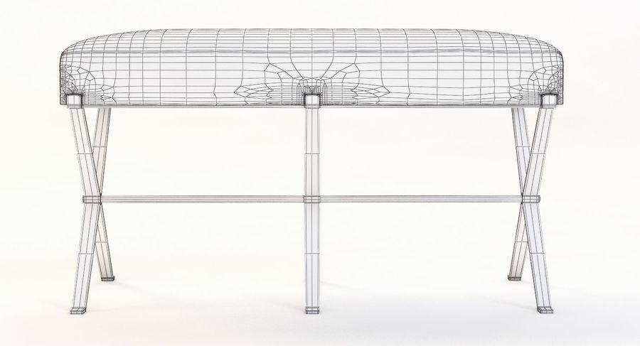 Cool Madame X Bench Modelo 3D 5 Max Obj Fbx 3Ds Free3D Spiritservingveterans Wood Chair Design Ideas Spiritservingveteransorg