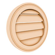 Round Louver 1 - 12 inch 3d model