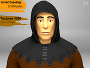 Cavaleiro Medieval 3d model